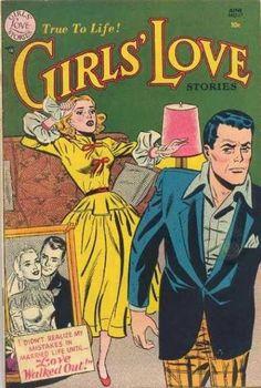 Girls' Love Stories - Retro covers