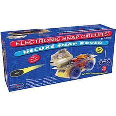 Snap Circuits Deluxe R/C Snap Rover Electronics Discovery Kit - RobotMerchandise