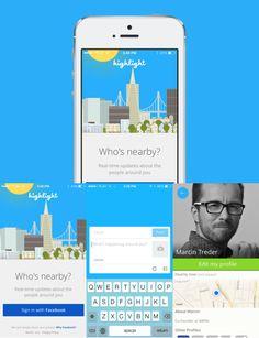 Hightlight #appdesign #Inspiration #Mobile