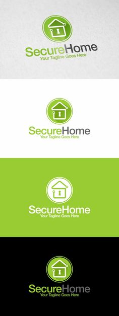 Home Security | Logo Template