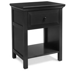 Mantua Mfg. Co. Solid Wood Cottage Style Nightstand & Reviews | Wayfair