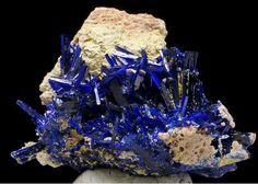 Azurite from Khenifra Province, Morocco