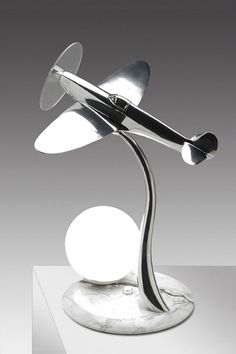 Art Deco Aeroplane Light. @designerwallace