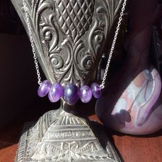 Raw Amethyst Transluscent Purple Classic by WithTheseHandsCreate, $37.00