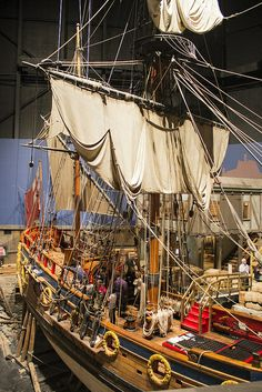The Nonsuch at the Manitoba Museum ~ Winnipeg, Manitoba, Canada |Ron Macalino Flickr - Photo Sharing!