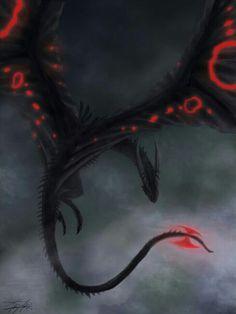 Fog by Ruth-Tay - dragon fantasy art Mythical Creatures Art, Mythological Creatures, Magical Creatures, High Fantasy, Dark Fantasy Art, Dragon Medieval, Cool Dragons, Fantasy Beasts, Beautiful Dragon