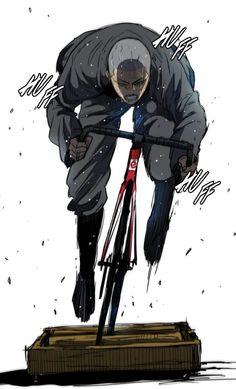 Pose Reference Photo, Art Reference, Bike Illustration, Fixed Gear Bike, Cycling Art, Bike Art, Naruto Shippuden Anime, Manhwa Manga, Art Portfolio