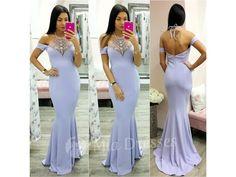 bc134c180b73 Fialové spoločenské šaty s kamienkami - Mia Dresses