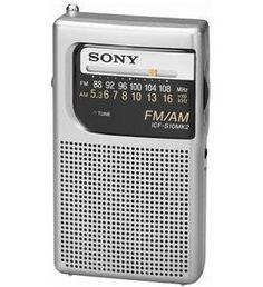 .        Sony ICF-S10MK2 Portable Pocket Radio AM/FM UPC 027242598447 NEW CHEAP