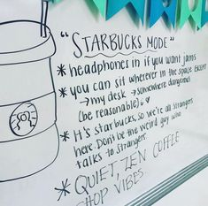 "Have you tried ""Starbucks Mode"" in your classroom? @misskteaches says it's a game changer for keeping students calm and on task! Can't wait…"