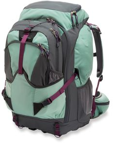 Fit what you need in this travel backpack.