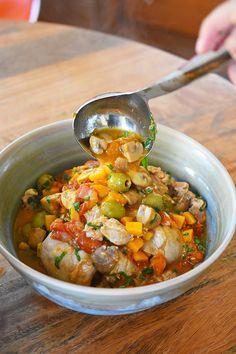 Instant Pot Summer Italian Chicken by Michelle Tam https://nomnompaleo.com