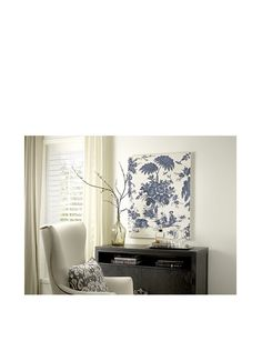 French Linen Collection Blue Toile Tapestry at MYHABIT