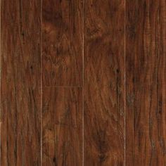 Shop allen + roth 4.85-in W x 3.93-ft L Toasted Chestnut Handscraped Laminate Wood Planks at Lowes.com