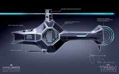 TRON Uprising Light Chopper. Nice concept artwork!