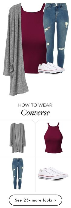 """Untitled #2780"" by laurenatria11 on Polyvore featuring Converse #polyvoreoutfits"