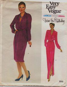 Vintage 70s Vogue American Designer Original by CloesCloset, $14.00