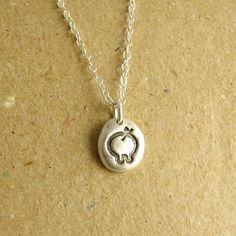 Pig+Necklace+Pig+Charm+Fine+Silver+Sterling+Silver+by+Dragonfly65,+$55.00