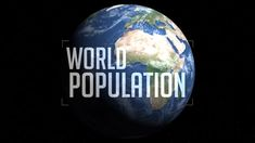 Watch human population grow from 1 CE to present and see projected growth in under six minutes. One dot = 1 million people.  © Population Connection, 2015.
