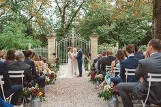 A stunning destination wedding in France that is both equally beautiful and fun. Celebrity Weddings, Destination Wedding, France, Rustic, Table Decorations, Beautiful, Celebrities, Party, Photography