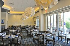 Waters Cafe in the Agua Caliente Resort and Casino in Rancho Mirage, Ca.