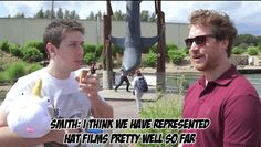 Yea Smith... Represented #HatFilms very well *laughing at Trott in the background*