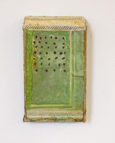Mirco Marchelli, 2013 cloth, paper, wax, wood and verdigris 33x20x5 cm  http://www.cardelliefontana.com/artisti/Marchelli/omm.htm #mixed_media #art