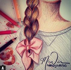 It's amazing what you can do with color pencils :)