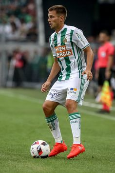 Thomas Schrammel of Rapid in action during an friendly match between SK Rapid Vienna and Chelsea F.C. at Allianz Stadion on July 16, 2016 in Vienna, Austria.
