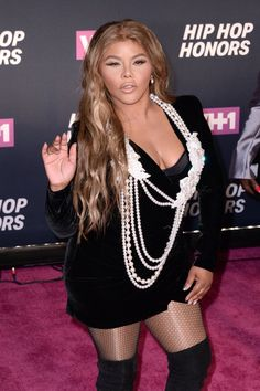 Pin for Later: Lil' Kim Had the Best Date Ever to VH1's Hip Hop Honors — Her Daughter!