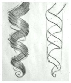 Art and Literature drawing tutorial tutorial and ideas for hair # 3 Popular Hairstyles, Easy Hairstyles, Pencil Drawings, Art Drawings, How To Draw Braids, Wattpad, Anime Hair, Hair Designs, Draw
