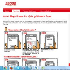 Airtel Winners Zone's   Win Car, Bike, LED TV, Gift Card, Recharge And More