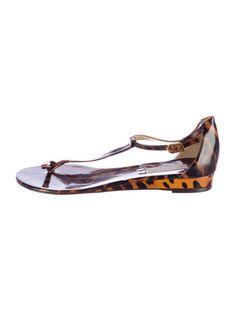 Michael Kors Leopard Print Sandals