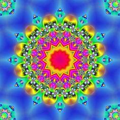 . Fractal Geometry, Fractal Art, Sacred Geometry, Fractal Images, Sun Mandala, Mandala Art, Patterns In Nature, Textures Patterns, Fractals In Nature