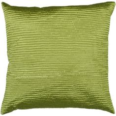 "20"" Bright Lime Green Shiny Ribbed Decorative Throw Pillow Diva At Home http://www.amazon.com/dp/B00JOHJL6O/ref=cm_sw_r_pi_dp_I.cOub107RDT7"