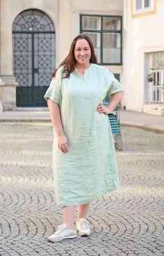 Plus Size Kleidung, White Dress, Shirts, Dresses, Style, Fashion, Sustainable Fashion, Curvy Women, Fashion Plus Sizes