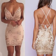 Copy of champagne v-neck school event dress backless racer-back homecoming dress. - - Copy of champagne v-neck school event dress backless racer-back homecoming dress sleeveless applique lace party Source by Lace Party Dresses, Event Dresses, Lovely Dresses, Trendy Dresses, Dresses For Teens, Day Dresses, Formal Dresses, Short Tight Dresses, Winter Dresses