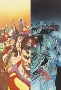 Alex Ross - Justice is a twelve-issue mini series written by by Alex Ross and Jim Krueger, with art also by Ross and Doug Braithwaite. It is possibly my favorite comic of all time,