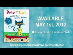 Pete the Cat and His Four Groovy Buttons! - YouTube