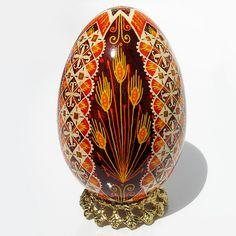 Harvest Sunshine - Real Handmade Traditional Ukrainian Goose Egg by Ukrainian Treasures, via Flickr