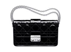 Large Dior New Lock pouch in black patent leather New Look Bags, Christian Dior  Purses 9feed0ee00