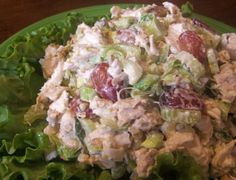Almond Tarragon Chicken Salad Recipe - Food.com