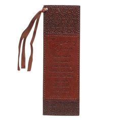 Amazing Grace - Faux Leather Bookmark
