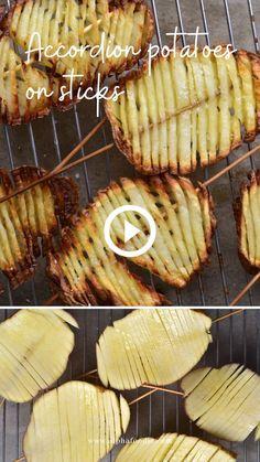 Healthy Potatoes, Crispy Potatoes, Vegan Recipes, Snack Recipes, Cooking Recipes, Potato Sticks, Potatoes On A Stick, Cherry Tomato Pasta, Vegetarian Snacks