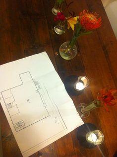 Original warehouse floor plan