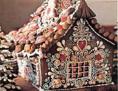 In my mind, this is the Gingerbread House I built this year.