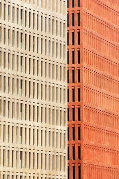 Ciutat de la Justicia (City of Justice) designed by David Chipperfield. Barcelona, Catalonia. Photo Carlos Hernandez