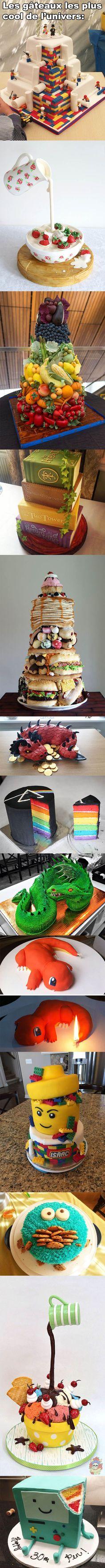 ConneriesQc - Version Mobilette » Les gâteaux les plus cool de l'univers