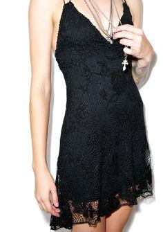 Lip Service Bad Moon Rising Crochet Dress | Dolls Kill