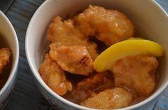 Cuchillito y Tenedor: Pollo al limón. Cocina china.